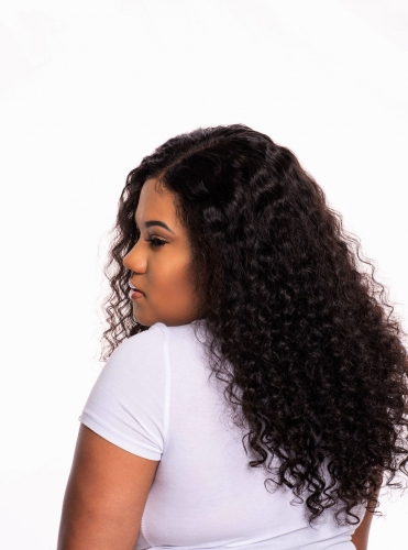 Waterwave Undetectable Invisible Lace Full Lace Wig