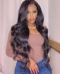 Full Lace Wig Natural Body wave Lace